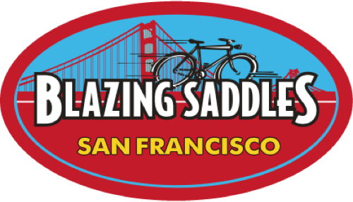 Blazing Saddles reference logo